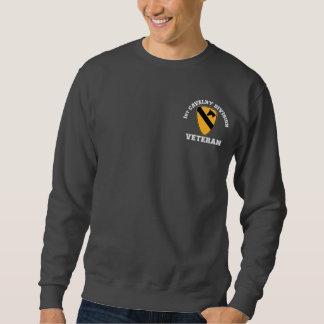 1st Cav Vet - högskolastil Sweatshirt