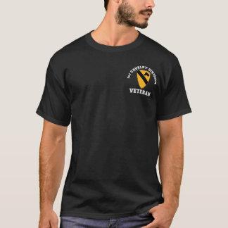 1st Cav Vet - högskolastil T Shirt