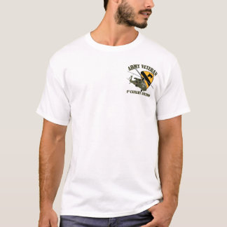 1st Cav Vet - UH60 Blackhawk T-shirt