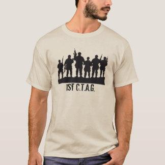 1st CTAG-enhetst-skjorta. grönt Tee Shirt