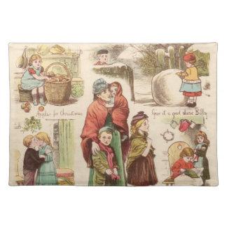 1st December 1879: En uppsättning av jul skissar Bordstablett