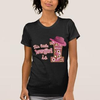 1st födelsedag för Cowgirl T Shirts