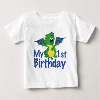 1st födelsedag för drake t-shirt