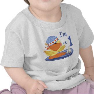 1st födelsedag för Ducky pojke Tröjor
