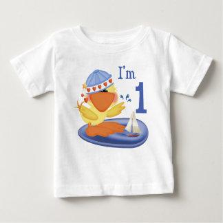 1st födelsedag för Ducky pojke Tshirts