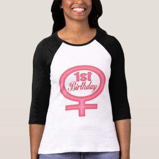 1st födelsedag för flickor tröjor