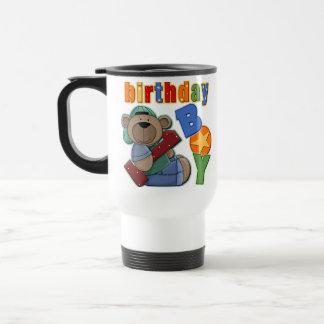 1st födelsedag för födelsedagpojke rostfritt stål resemugg