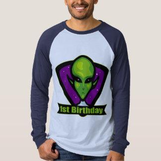 1st födelsedag för främling t-shirts