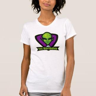 1st födelsedag för främling t shirt