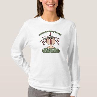 1st födelsedag för grattis på födelsedagen t-shirts