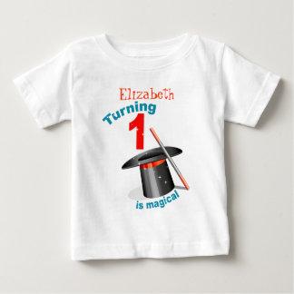 1st födelsedag för magiskt party t-shirt