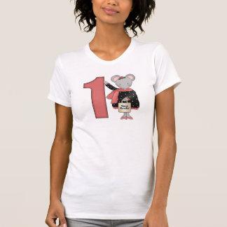 1st födelsedag för mus t-shirt