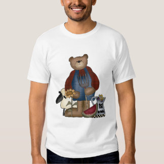 1st födelsedag för nalle t-shirts