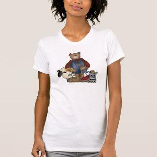 1st födelsedag för nalle tshirts