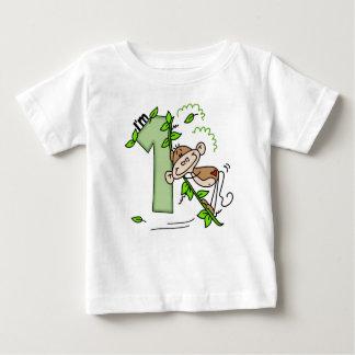 1st födelsedag för pinneapagunga t-shirts