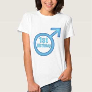 1st födelsedag för pojkar t-shirts