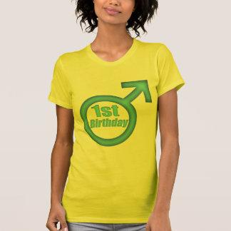 1st födelsedag för pojkar tee shirt