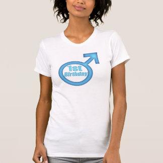 1st födelsedag för pojkar t-shirt