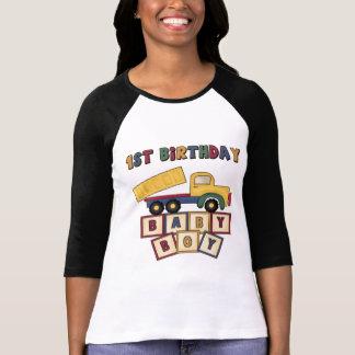1st födelsedag för pojke t-shirt