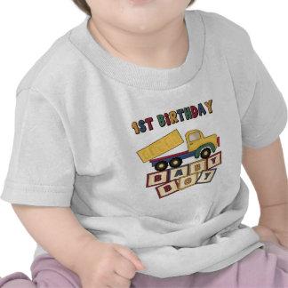 1st födelsedag för pojke t-shirts