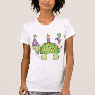 1st födelsedag för sköldpadda t shirts