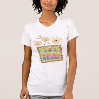 1st Födelsedag för spädbarn Tee Shirts
