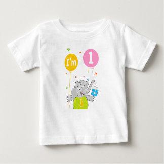1st Födelsedag mig förmiddag 1 gammala år Tee Shirts