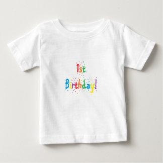 """""""1st födelsedag! """"Skjorta Tshirts"""