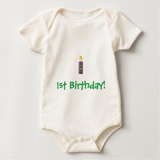 1st Födelsedag Body För Baby