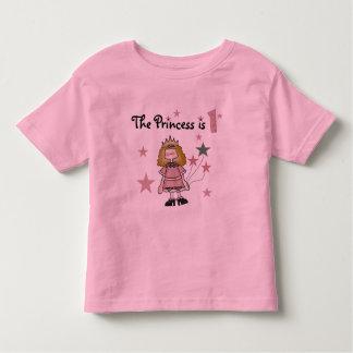 1st födelsedag Tshirts och gåvor för Princess