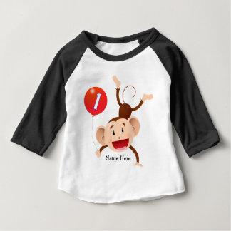 1st Födelsedagapaanpassningsbar Tee Shirts