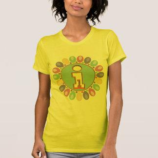 1st Födelsedagballonger Tee Shirts