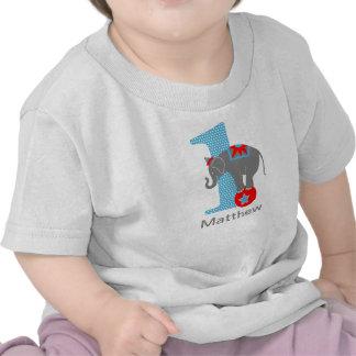 1st Födelsedagcirkuselefant T Shirt