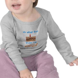 1st födelsedagdräkt för pojkar - bebis T T-shirt