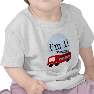 1st Födelsedagen avfyrar lastbilen T Shirts