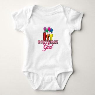 1st Födelsedagflicka T-shirt