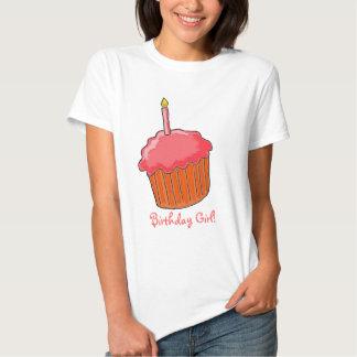 1st Födelsedagflickakonst Tee Shirts