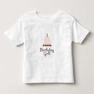 1st FödelsedagflickaT-tröja T Shirts