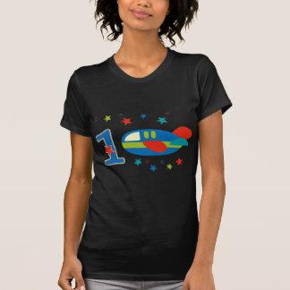 1st Födelsedagflygplan Tee Shirt