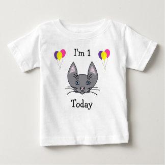 1st FödelsedagkattT-tröja T-shirts
