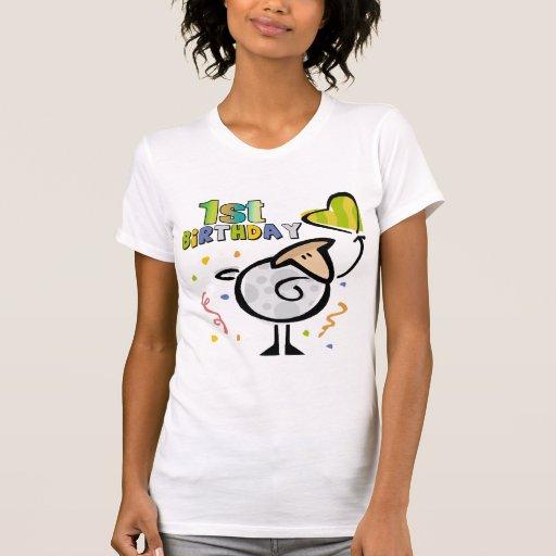1st FödelsedagLamb Tee Shirts