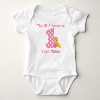 1st FödelsedagPrincess Flicka Personifiera Skjorta T Shirts