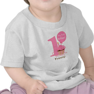1st Födelsedagrosamuffin T Shirts