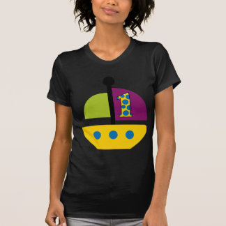 1st Födelsedagsegelbåt T-shirt