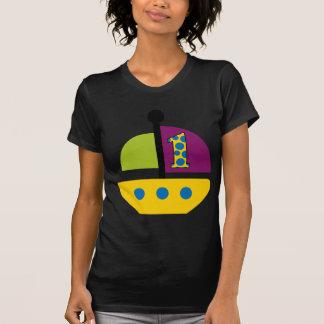 1st Födelsedagsegelbåt Tee Shirt