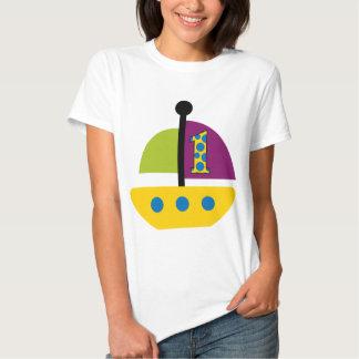 1st Födelsedagsegelbåt Tee Shirts