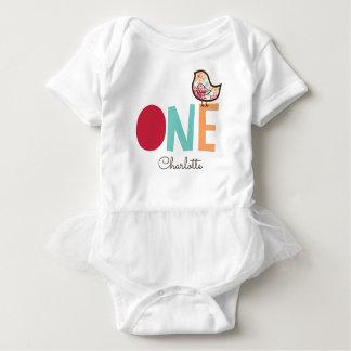 1st födelsedagsfest för söt damastast chickflicka t shirts
