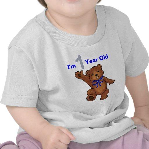 1st Födelsedagsfestpojke Tee Shirt