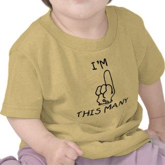 1st Födelsedagskjorta T-shirts