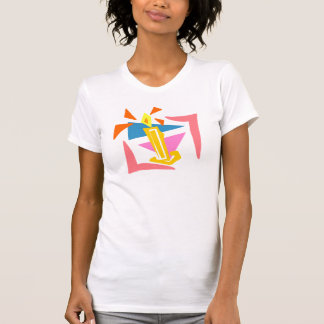 1st Födelsedagstearinljus T-shirt